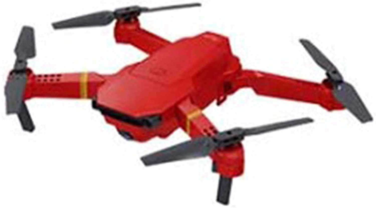 JFZ 4DRC V4 Drone with Camera for Adults and Kids, 4K HD FPV Live Video, Foldable RC Quadcopter Helicopter with Waypoints, Headless Mode,One Key Start, Altitude Hold,360 red