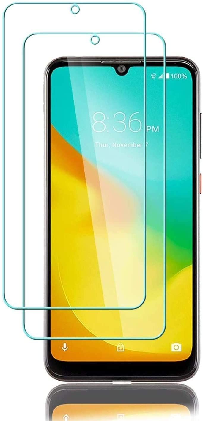 Boost Coolpad SUVA Screen Protector, [2 Pack] Tempered Glass Film [ Anti-Fingerprints ] [ Touch Sensitive ] 9H Hardness Protective Film Screen Protector for Coolpad SUVA