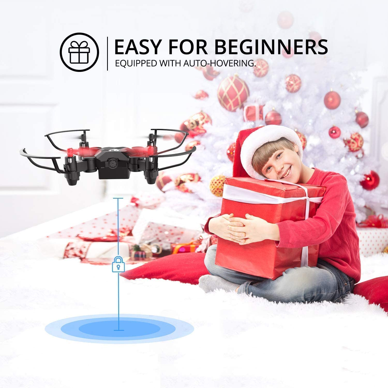 Holy Stone Mini Drone Set with HS190 and HS170, Easy for Kids and Beginners