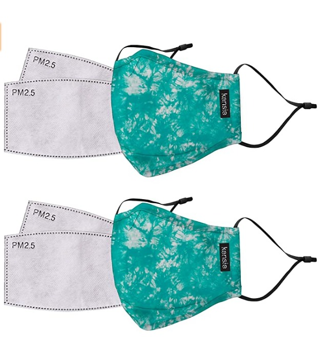 Cotton Face Mask Online Shopping Good Rank Washable And Reusable Kensie Womens 2 Piece Face Mask